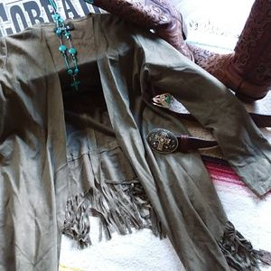 36.5 Jackets & Coats - 36.5 Fringed Jacket